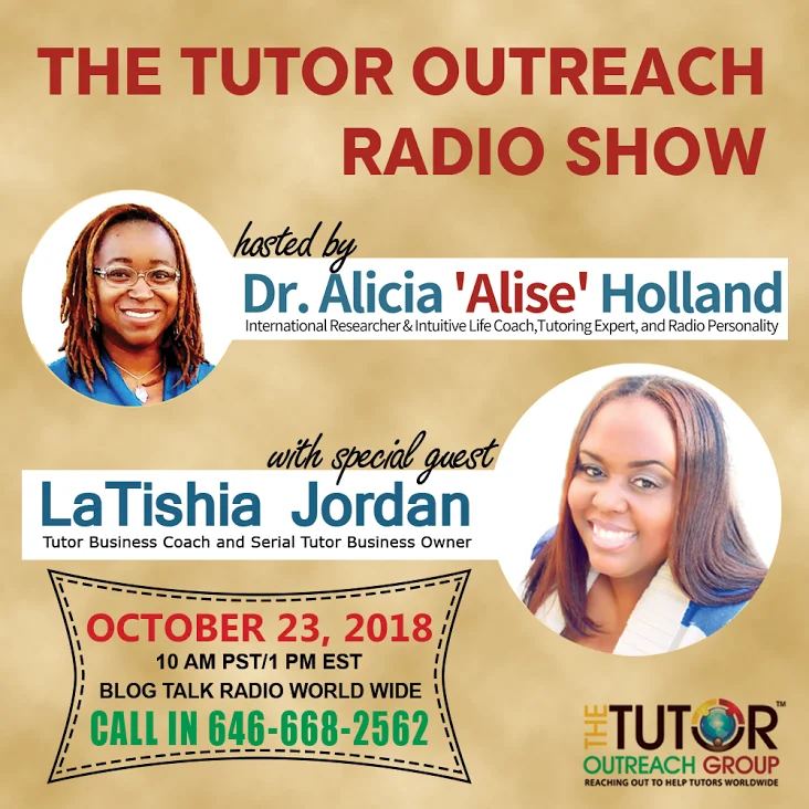 Tutoring in the Clouds: Starting an Online Math Tutoring Business with Professor LaTishia Jordan